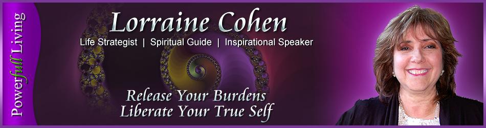 Spiritual Guide | Inspirational Speaker | Lorraine Cohen